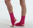 Stirrup ankle protectors SOLO GL10-63, Fuchsia