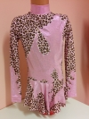 Leotard for competitions, used. For height 132-142 cm