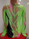 Leotard for competitions, used. For height 134-144 cm