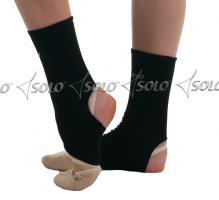Stirrup ankle protectors SOLO GL10-61, Black