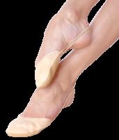 Grishko Irina 03053M microfiber/leather beige half shoes; size XXS (23-25)