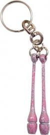 Pastorelli Glitter Lilac miniclubs key ring, Art. 00186