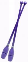 Булавы PASTORELLI, 45,2 см, резино-пластиковые. Цвет: лиловый, Art. 00225