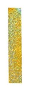 Pastorelli Glitter adhesive stripe. Colour: Gold Glitter, Art. 00261