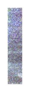 Pastorelli Glitter adhesive stripe. Colour: Silver Glitter, Art. 00262
