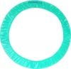 Чехол для обруча Pastorelli Light. Цвет: аквамарин, Art. 02099