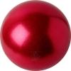 "PASTORELLI GLITTER Gym Ball HV (High Vision). Color: ""Strawberry"", Art. 02203"