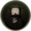 "PASTORELLI GLITTER Gym Ball HV (High Vision). Color: ""Black"", Art. 02275"