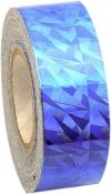 PASTORELLI CRACKLE Metallic adhesive tape. Colour: blue, Art. 02295