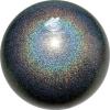 "PASTORELLI GLITTER Gym Ball HV (High Vision). Color: ""Galaxy AB"", Art. 02408"