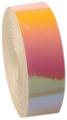 Metallic adhesive tape LASER. Colour: Pink-yellow, Art. 02480