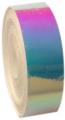 Metallic adhesive tape LASER. Colour: Pink-Lilac-Sky Blue, Art. 02481