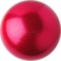 Iluvõimlemis pall PASTORELLI Glitter, diameter 16. Colour: Strawberry