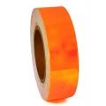 Metallic adhesive tape LASER. Colour: Fluo Orange, Art. 02711