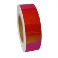 Metallic adhesive tape LASER. Colour: Ruby, Art. 02712
