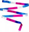 ITALIA rayon ribbon 5m, three-colour blue white fuxia, Art. T0018