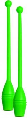 Булавы юниор для тренировок, 36 см. Цвет: зеленый, Art. 10065