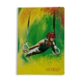PASTORELLI RINGS A5 squared exercise book - FREEDOM Line, Art. 20457