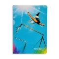 PASTORELLI UNEVEN BARS A5 squared exercise book - FREEDOM Line, Art. 20458