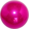 "PASTORELLI GLITTER Gym Ball HV (High Vision). Color: ""Raspberry"", Art. 02068"