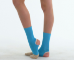 Stirrup ankle protectors SOLO GL10-64, Turquoise