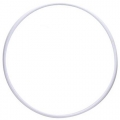 Rõngas PASTORELLI RODEO 70 cm, valge, Art. 00304