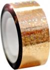DIAMOND Metallic adhesive tape. Colour: Gold