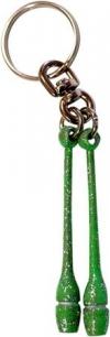 Pastorelli Glitter Green miniclubs key ring, Art. 00190