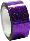 DIAMOND Metallic adhesive tape. Colour: Violet
