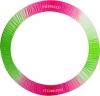 Чехол для обруча Pastorelli со стразами, Цвет: малиново-зеленый, Art. 01971
