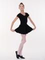Ballet skirt black, SOLO FD971-823