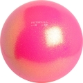 Iluvõimlemis pall PASTORELLI Glitter, diameter 16. Colour: Fluo Pink