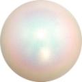 Iluvõimlemis pall PASTORELLI Glitter, diameter 16. Colour: Holographic White
