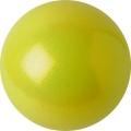 Iluvõimlemis pall PASTORELLI Glitter, diameter 16. Colour: Yellow