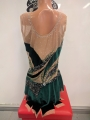 Leotard for competitions, used. For height 164-174 cm