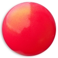 "PASTORELLI GLITTER Gym Ball HV (High Vision). Color: ""Coral"", Art. 03917"