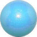 Iluvõimlemis pall PASTORELLI Glitter, diameter 16. Colour: Sky Blue