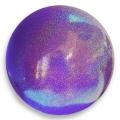 Iluvõimlemis pall PASTORELLI Glitter, diameter 16. Colour: Lilac HV