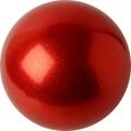 Iluvõimlemis pall PASTORELLI Glitter, diameter 16. Colour: Red