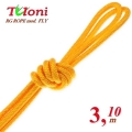 Competition Rope Tuloni mod. Fly. Color Yellow, Art.T0140