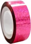DIAMOND Metallic adhesive tape. Colour: Fluo Pink