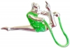Green pin with rope, Art. 00931