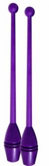 Булавы юниор для тренировок, 36 см. Цвет: Тёмный Фиолетовый