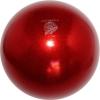 "PASTORELLI GLITTER Gym Ball HV (High Vision). Color: ""Red"", Art. 02069"