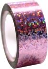 DIAMOND Metallic adhesive tape. Colour: Pink