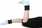 Ankle/wrist weights with velcro closure, 0.5 kg, Art. 20233