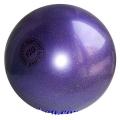 Iluvõimlemis pall Tuloni 16 cm. Colour: Violet Glitter