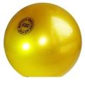 Iluvõimlemis pall Tuloni 16 cm. Colour: Gold Glitter