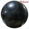 Iluvõimlemis pall Tuloni 16 cm. Colour: Black Glitter